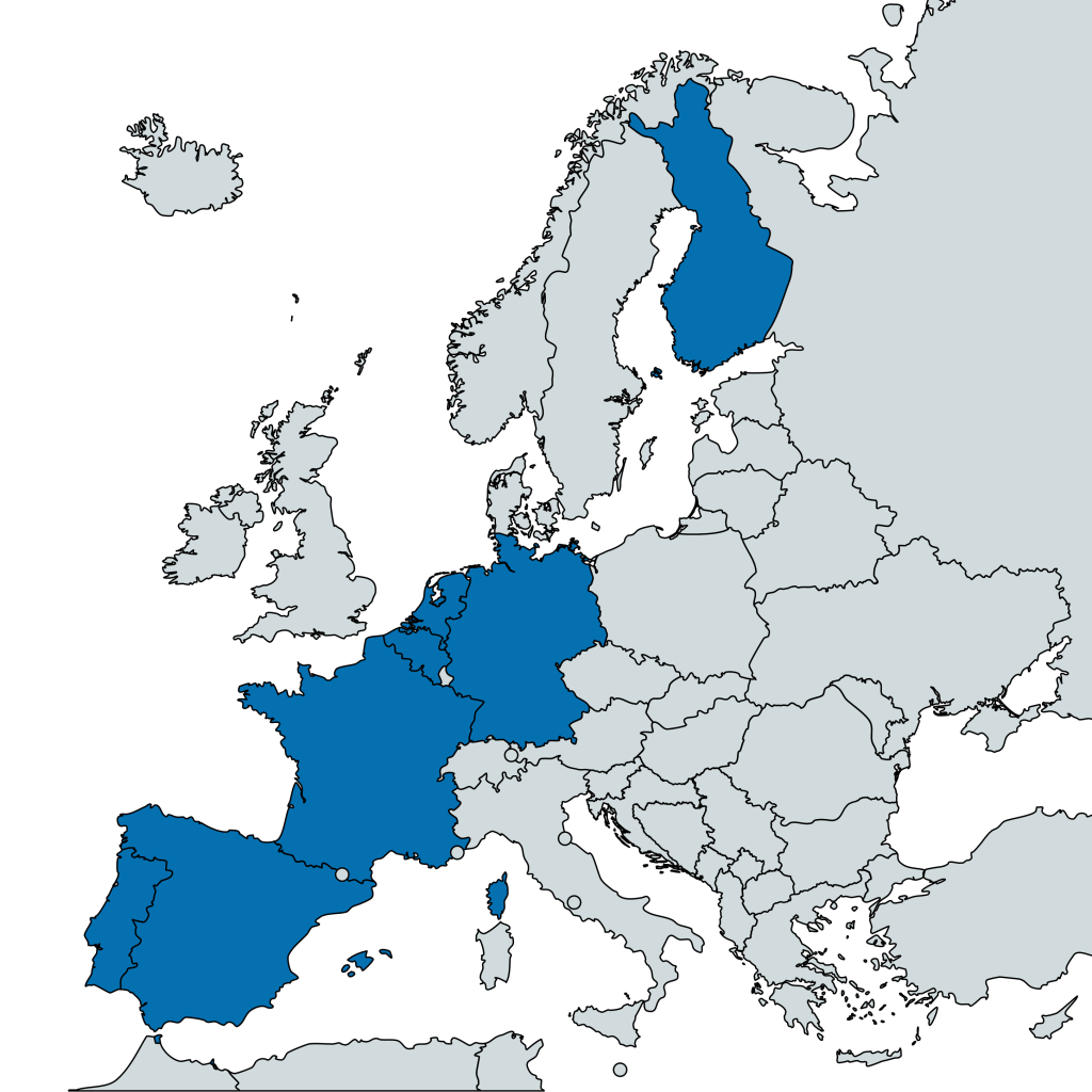 Map Secoiia