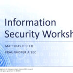 SeCoIIA Information Security Workshop